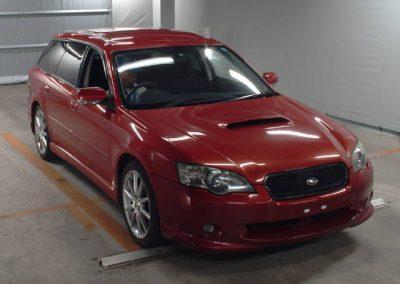 2003 Subaru Legacy GT Spec B – Wine Red – 86,000 miles – Deposit Paid!